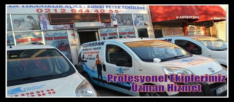 Fatih Cihazla Su Kaçağı Tespiti